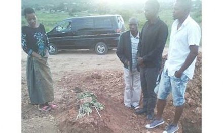 Bizarre: Family finds grave wide open a day after burying relative