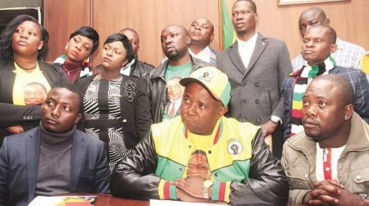 Ousted Zanu-PF Youth League leaders accused of stealing party funds