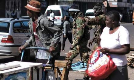 Zimbabwe army creates temporary bases in suburbs
