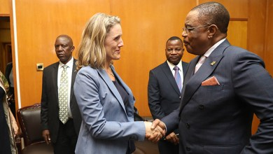 Photo of British Ambassador to Zimbabwe pays a courtesy call on VP Chiwenga