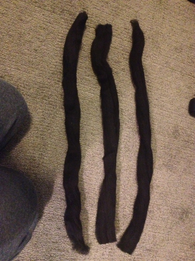 how do you make wool dreads? (5/6)
