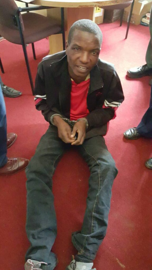 Man arrested at Borrowdale Primary
