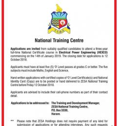 domestic installation house wiring course the zesa national training centre will be running a domestic installation house wiring course from the 1st to  [ 794 x 1083 Pixel ]