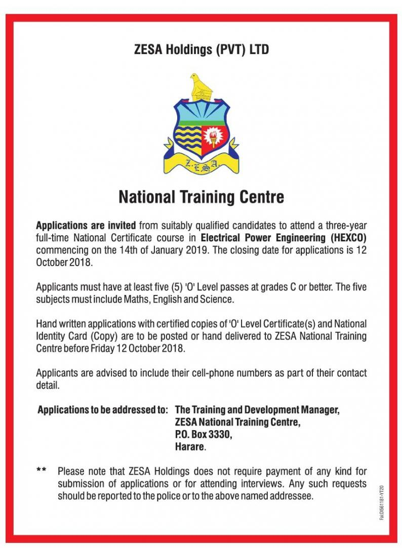 hight resolution of domestic installation house wiring course the zesa national training centre will be running a domestic installation house wiring course from the 1st to
