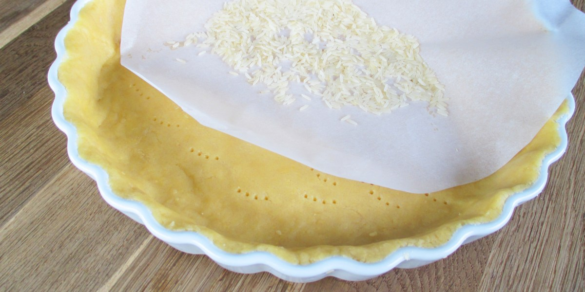 "Mürbeteig ""Blind backen"""
