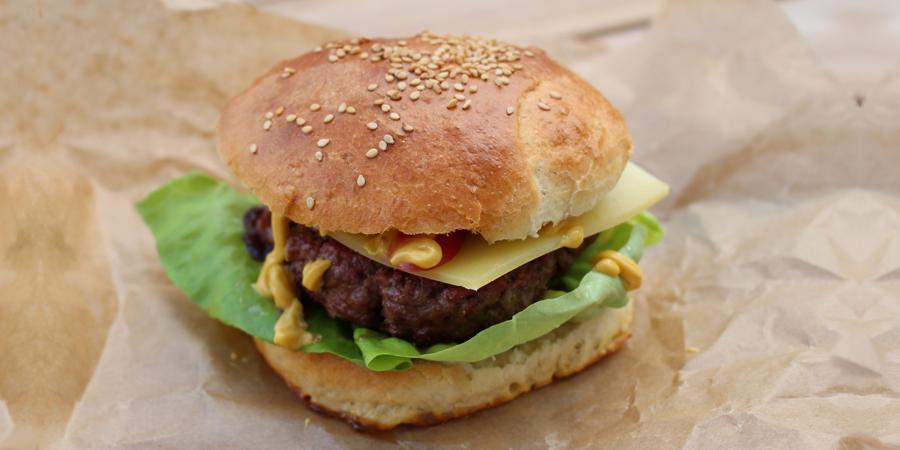 Burger Buns (Brötchen) einfach + lecker