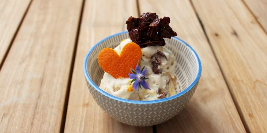 Frozen Joghurt Orange
