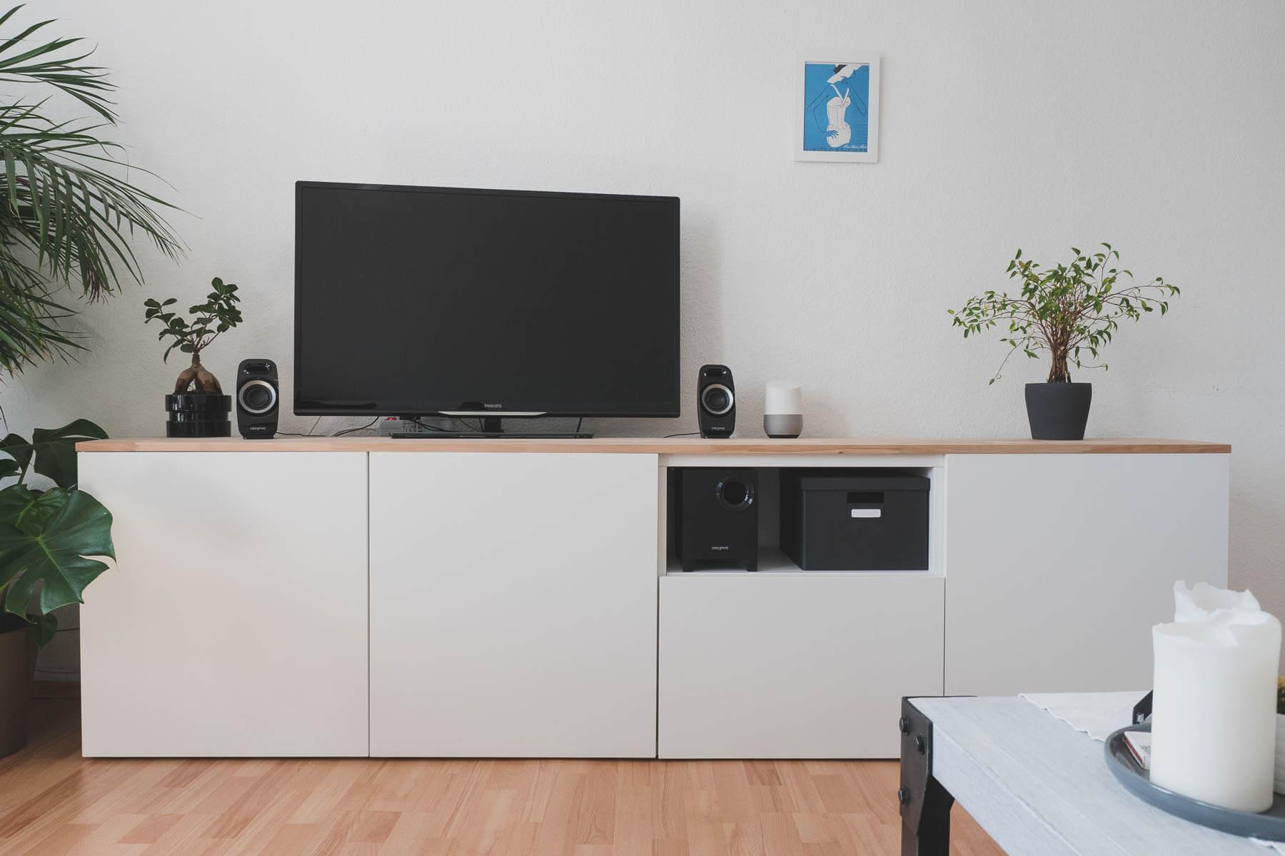ikea wohnzimmer gewinnspiel : Ikea Best Diy Sideboard F Rs Wohnzimmer Zimtstern In