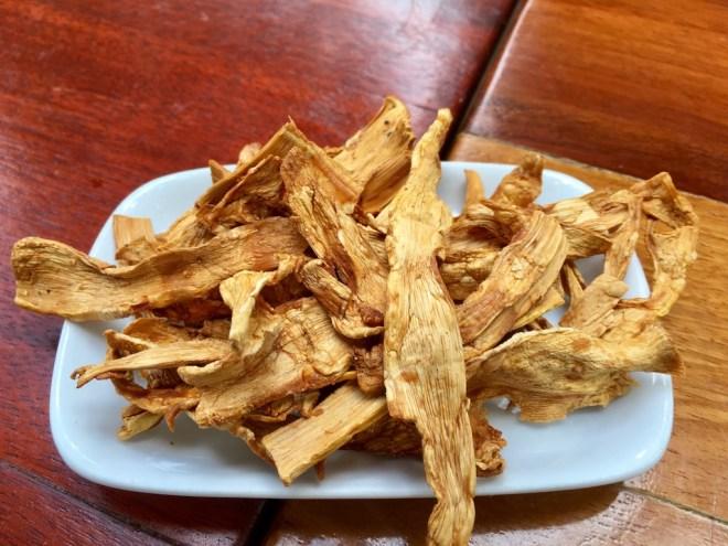 Tipps & Infos: Laotische Küche: Bambus, getrocknet