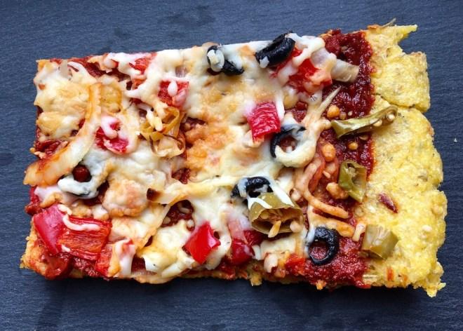 Rezepte: Hauptgerichte: Polentapizza