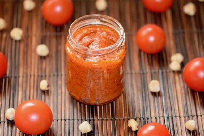 Rezepte: Hauptgerichte: Haselnuss-Tomaten-Pesto