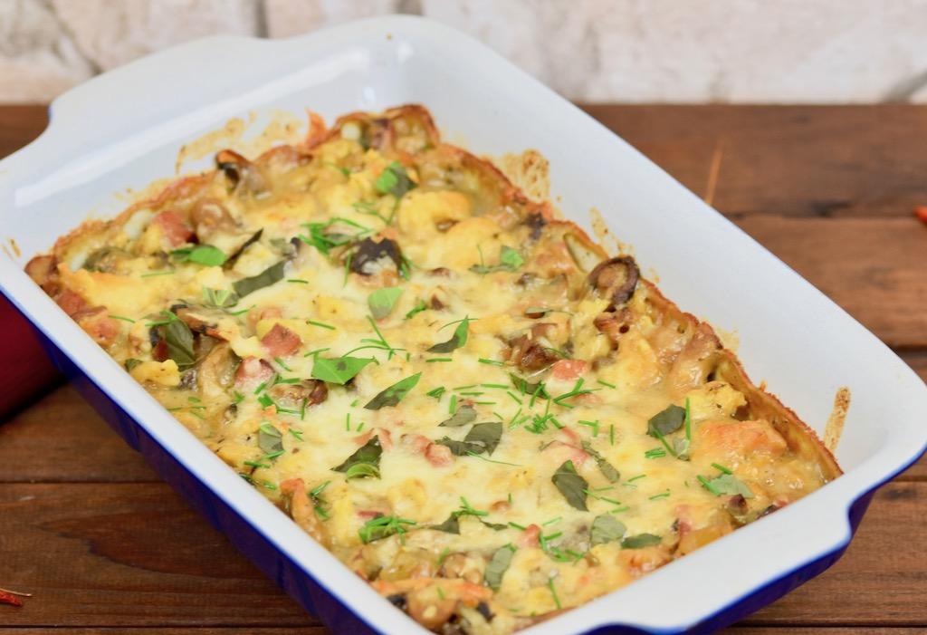 Spätzle in Pilzsauce - Rezept - glutenfrei - laktosefrei - Pilsauce - vegane Pilzsauce - Pasta - Champignons - Nudeln - Spätzle - Gericht - Auflauf