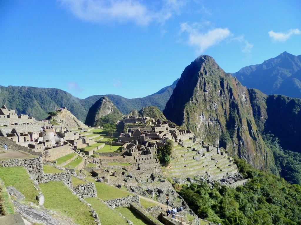 Berglandschaft mit Machu Picchu - Peru