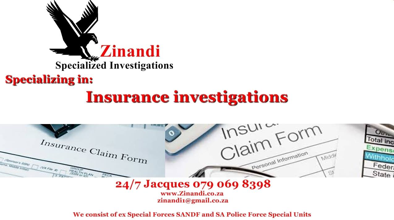 Zinandi Specialized Investigations - Services