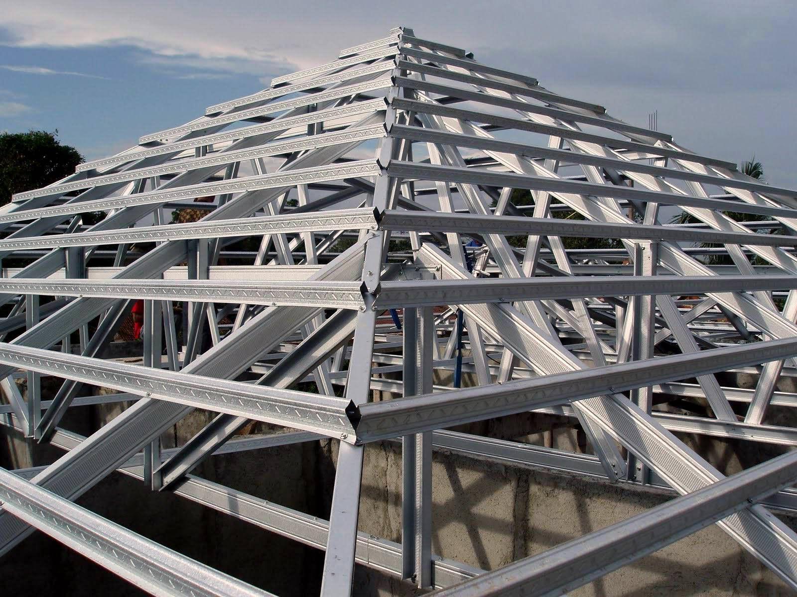 baja ringan g550 zincatruss | light gauge steel truss and frame