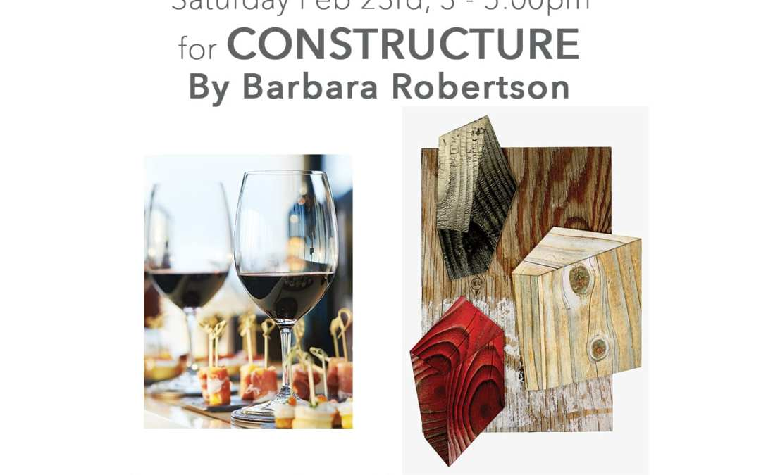 Artist Reception and Talk with Barbara Robertson