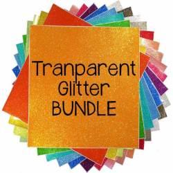 Transparent Glitter Vinyl