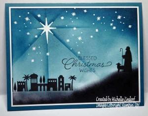 Night In Bethlehem - Stampin' Up! Card
