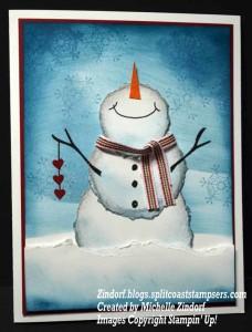 Torn Snowman