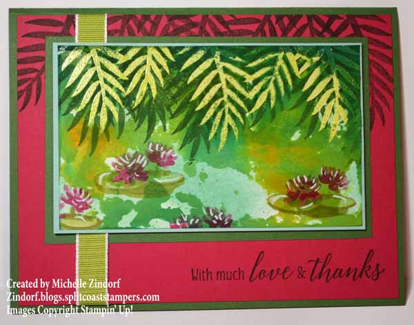 Smoosh Waterlillies