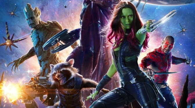 """""""Guardianes  de la galaxia"""" (2014) – hasta el infinito y más alla…"""