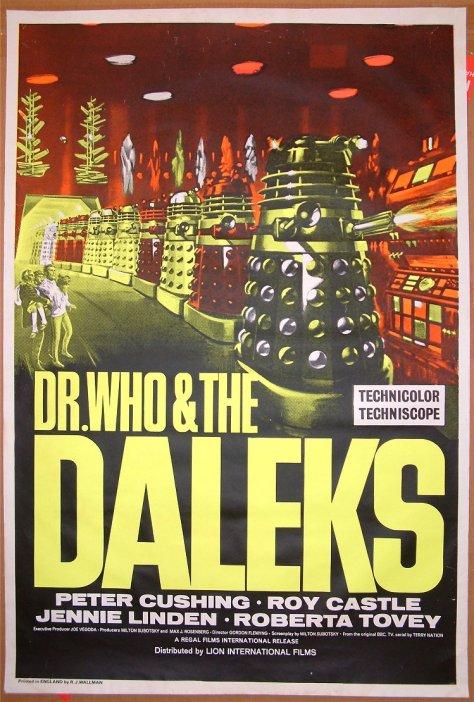 Dr Who y los Daleks
