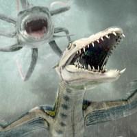 """Sharktopus vs Pteracuda"" (2014), pim pam pum..."