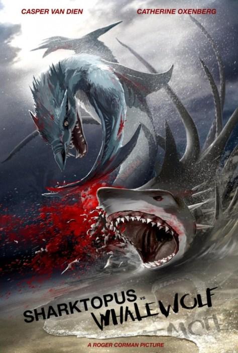 Sharktopus vs Whalewolf - poster