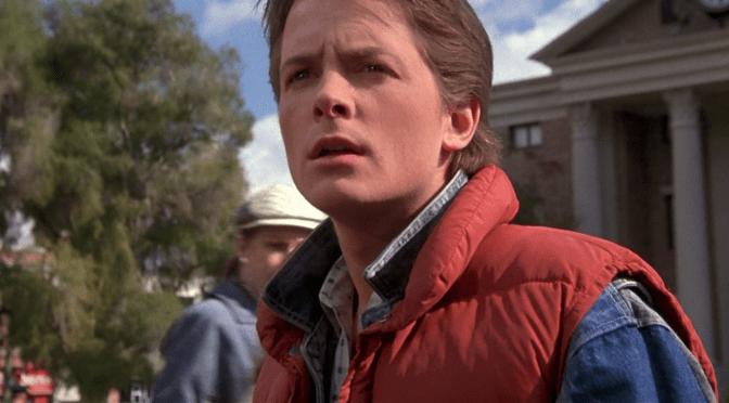 Hoy sí nos visita Marty McFly