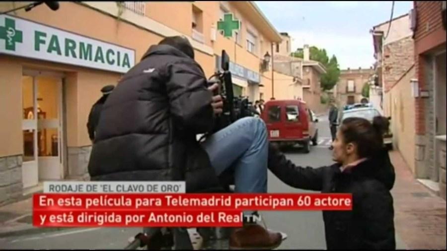 Captura de pantalla del rodaje.