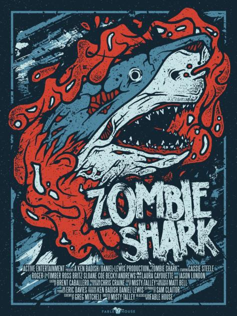 Zombie Shark - poster