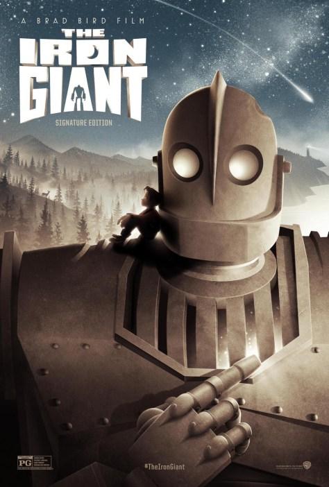 El Gigante de Hierro - poster