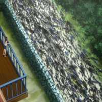 Gyo: Tokyo Fish Attack (2012), peces con pedorretas
