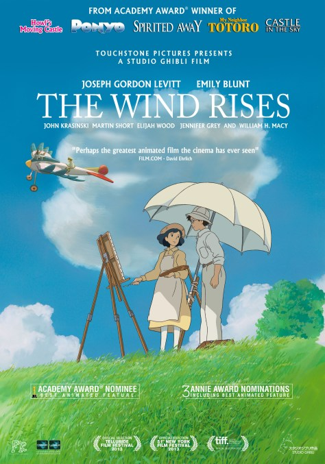 wind rises - poster