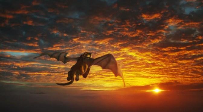 Peter y el dragón (2016), chupi calabaza