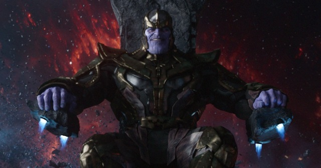 Marvel's Guardians Of The Galaxy Thanos (voiced by Josh Brolin) Ph: Film Frame ©Marvel 2014