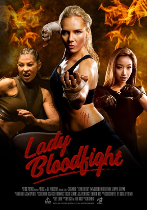 Lady Bloodfight -poster