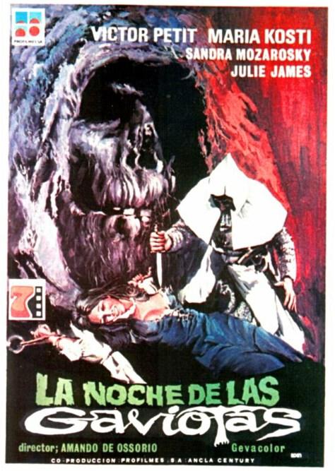 La noche de las gaviotas - poster