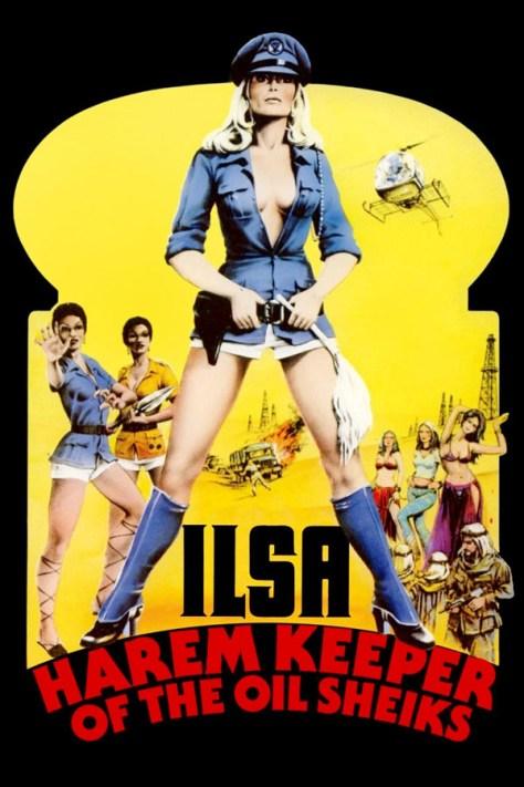 Ilsa, la hiena del harén - poster