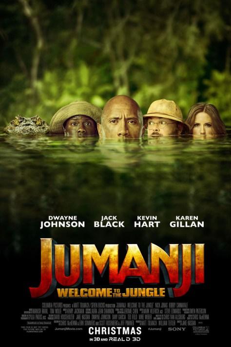 Jumanji: Bienvenidos a la jungla - poster