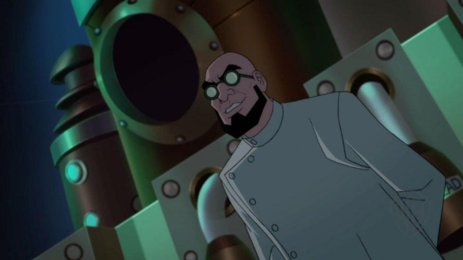 Fotograma de la película, con Hugo Strange