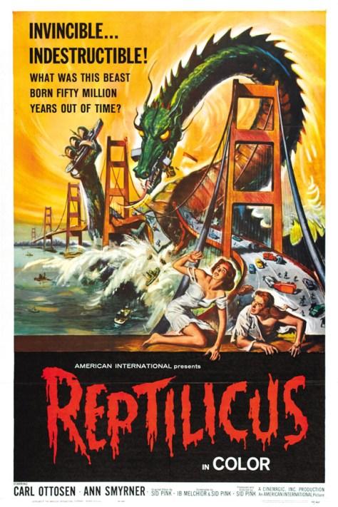 Reptilicus - poster