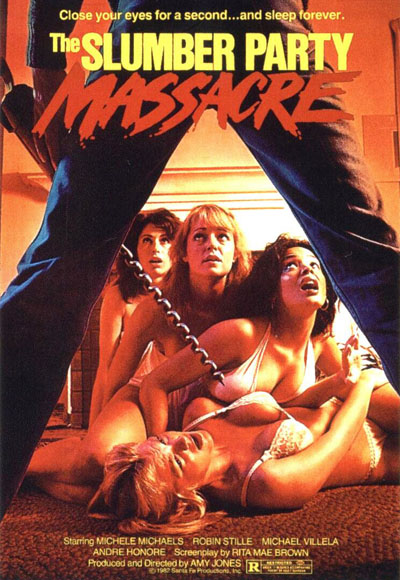 The slumber party massacre - poster