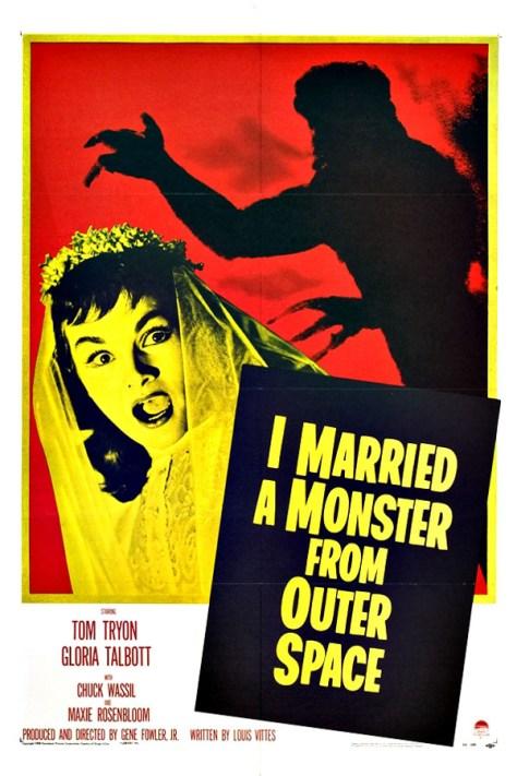 Me casé con un monstruo del espacio exterior - poster