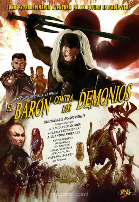 El barón contra los demonios - poster
