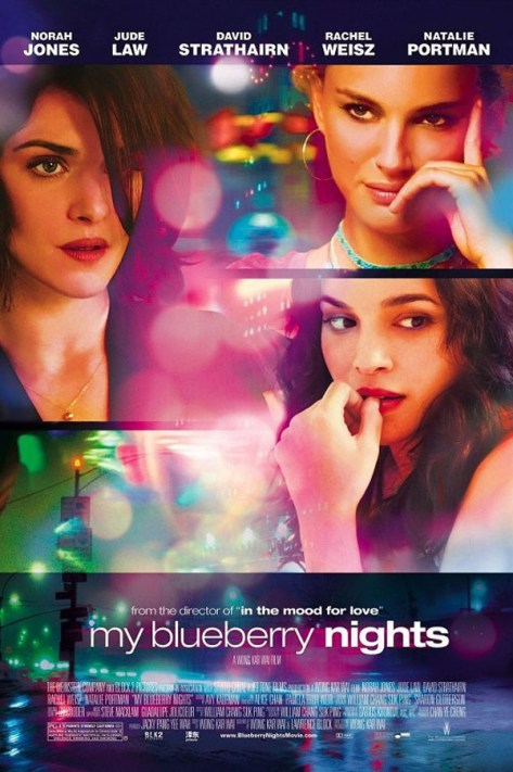 My blueberry nights - poster