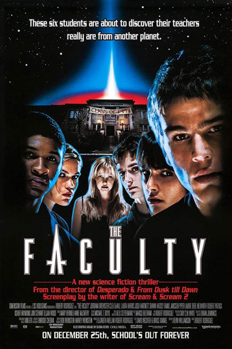 The Faculty - poster