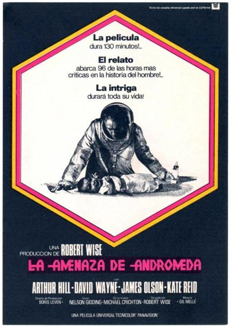 La amenaza de Andrómeda - poster