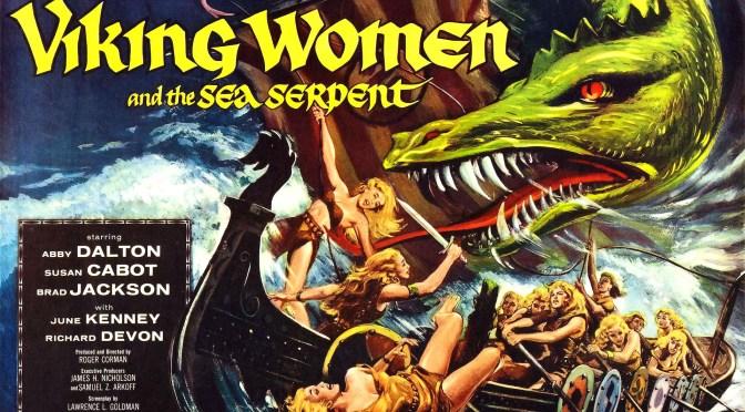 Las mujeres vikingo y la serpiente del mar (1957), bué