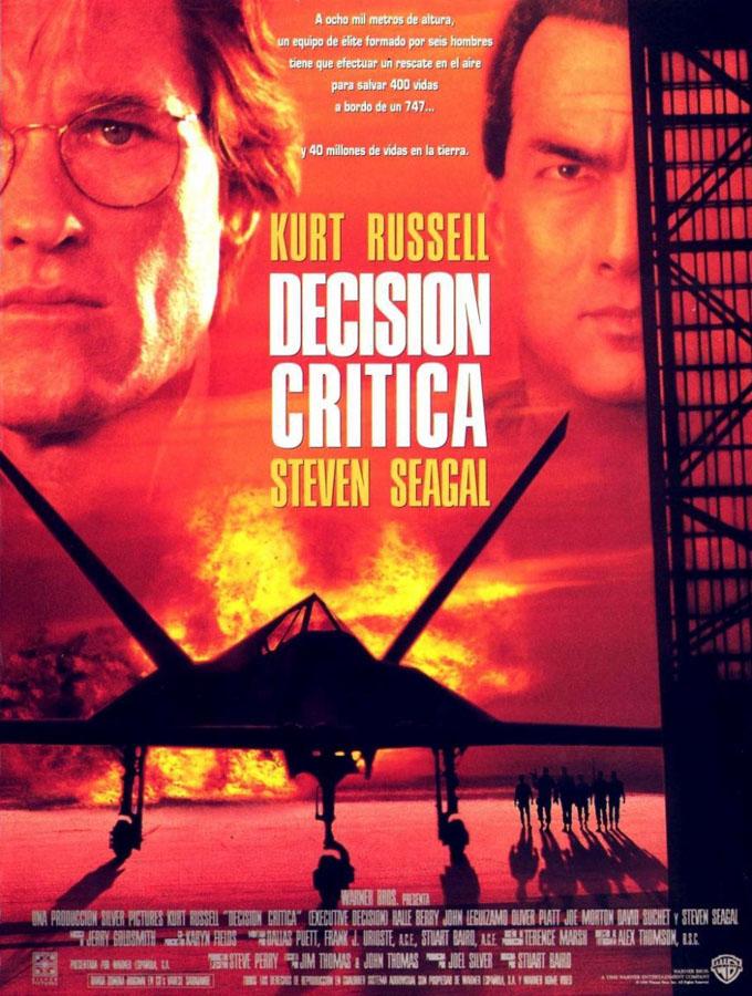 Decisión Crítica - poster